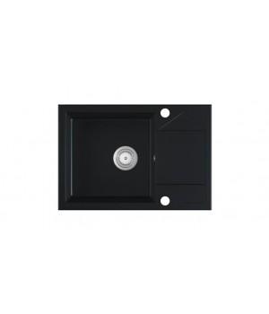ADRIA sink, color: black matt