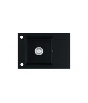 STEMA sink, color: black matt