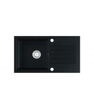 EVINION sink, color: black matt