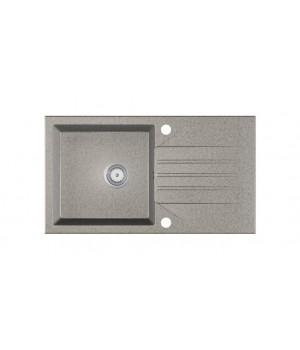 EVINION sink, color: spackled grey