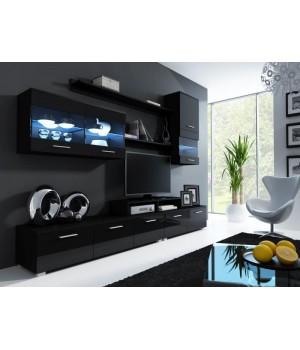 LOGO II black mat/gloss black