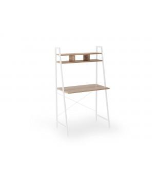 NARVIK B2 desk white / sonoma oak