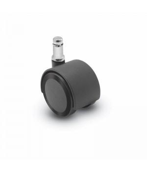 Rubber wheel color: black