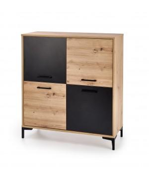 RAVEN KM-2 chest color: artisan oak/black