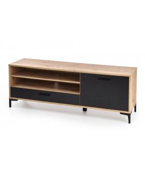 RAVEN RTV-1 TV-stand color: artisan oak/black