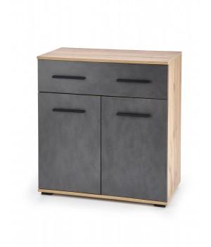 LIMA KM-1 chest, color: wotan oak / grey - matera
