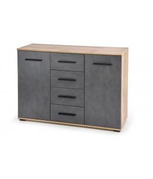 LIMA KM-4 chest, color: wotan oak / grey - matera