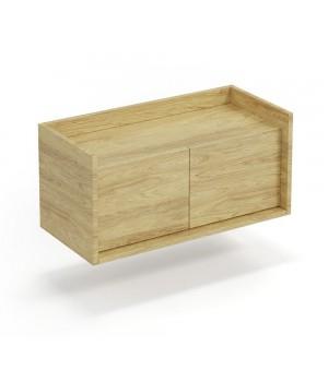 MOBIUS low cabinet 2D color: hikora oak