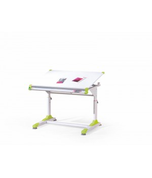 COLLORIDO desk color: white/green/pink