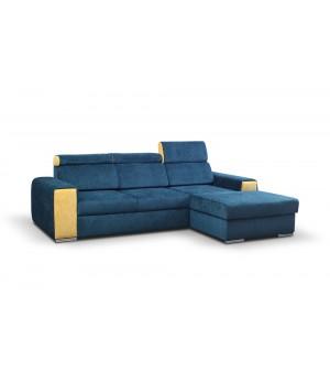 Stūra dīvāns BLUE